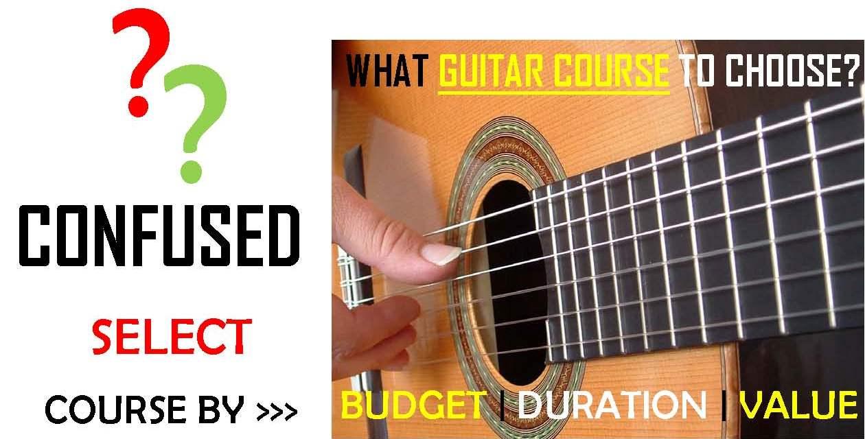 Courses Guitar