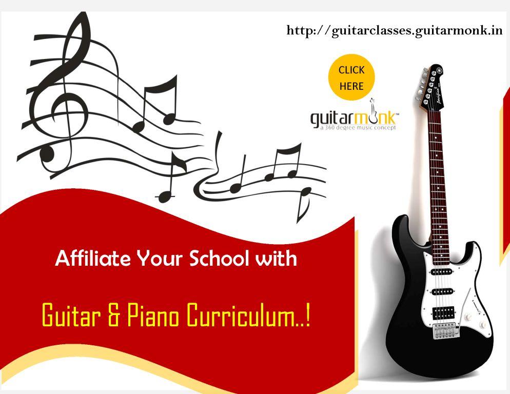 Guitarmonk Guitar Curriculum for Schools