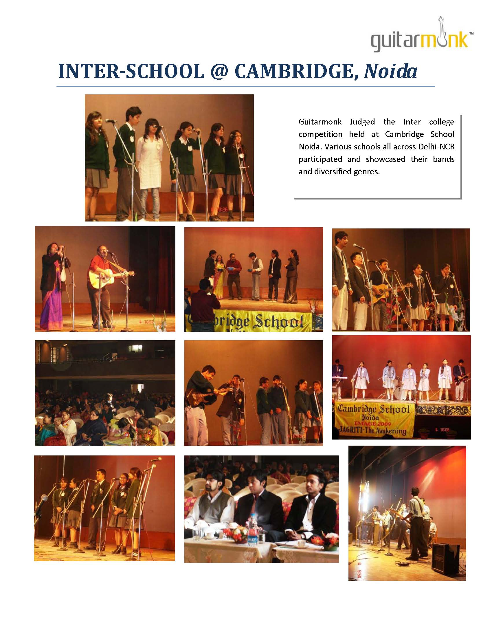 Inter school competition Noida