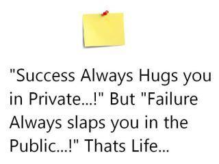 Success and Failure Image