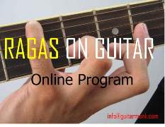 Learn Ragas on Guitar online