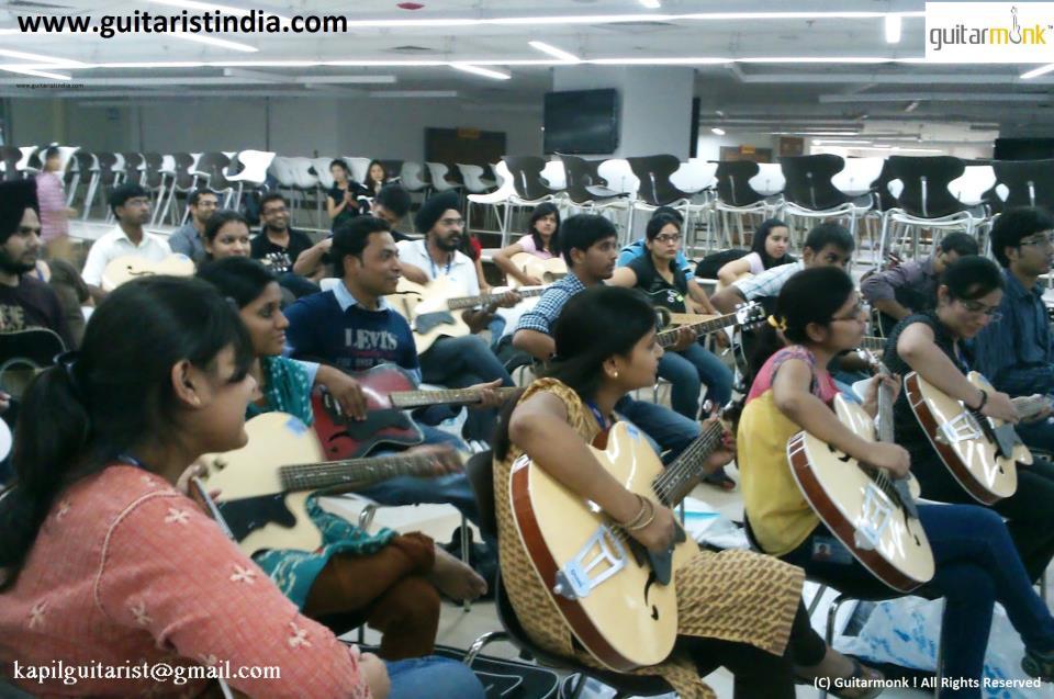 Guitar Students Delhi Image