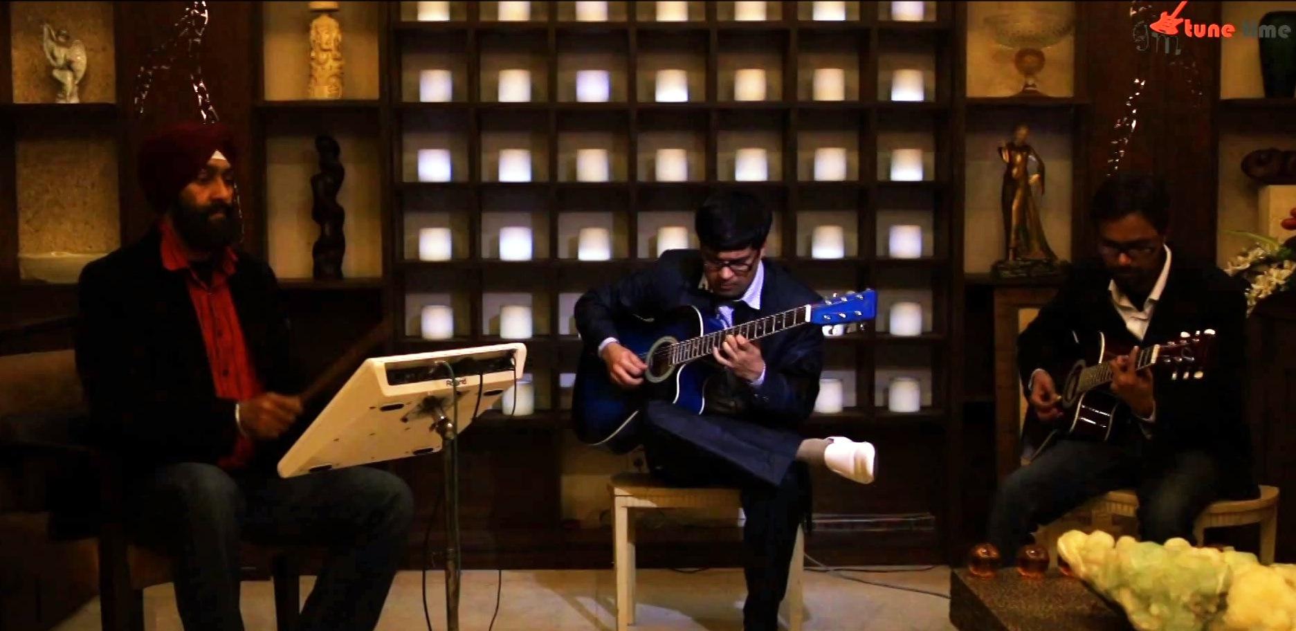 chaudhvin ka chand on guitar