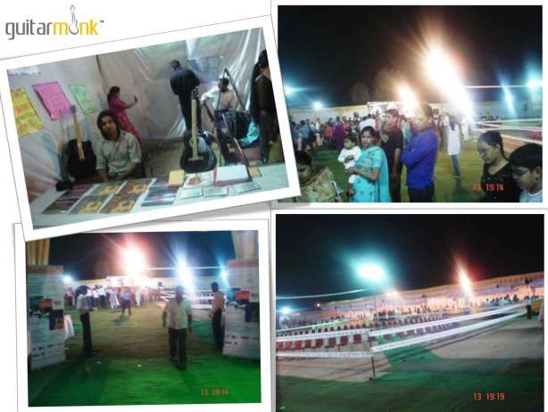 guitarmonk fair at west delhi