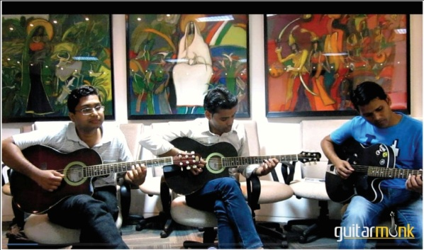 Guitar is a Science says South Delhi student