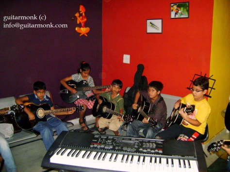 Guitar institute in greater kailash south delhi
