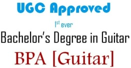 Bachelor in Performing Arts (BPA) Guitar