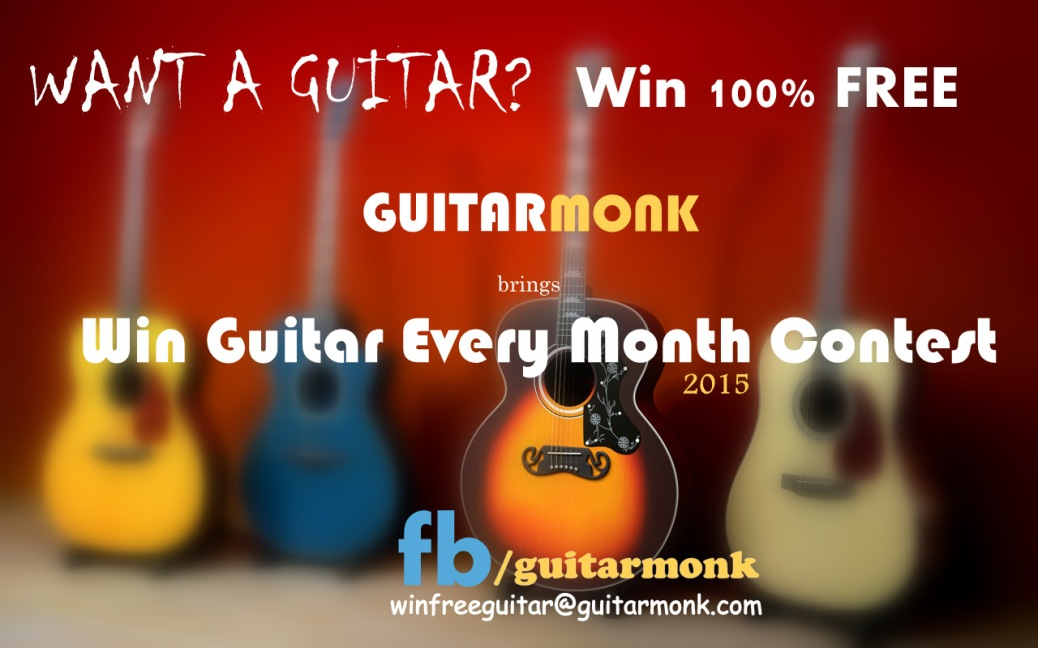 Win Free Guitar Contest January 2015